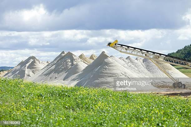 Wisconsin Frac Sand Mine Piles