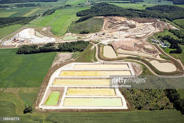 Wisconsin Frac Sand Mining Operation