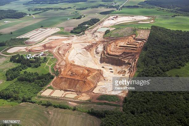 Wisconsin Frac Sand Mining Operation