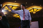 Wisconsin Gov Scott Walker acknowledges the crowd after his speech at the 42nd annual Conservative Political Action Conference February 26 2015 in...