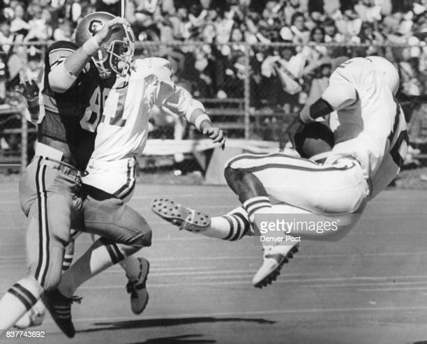 Wisconsin interception stopped CU thrust late in second quarter Wisconsin's Greg Lewis picked off David Williams pass a Badger 41 with 21 seconds...