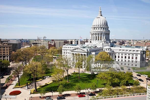 USA, Wisconsin, Madison, State Capitol Building