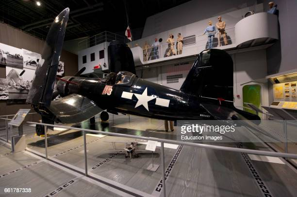 Wisconsin Oshkosh AirVenture 2016 EAA Museum 1945 ChanceVought F4U4 Corsair