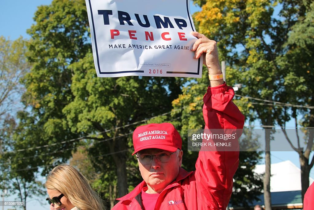 Trump fans at Wisconsin rally undeterred by lewd comments