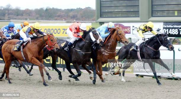 I Wish ridden by Liam Keniry beats Mr Bountiful ridden by Shane Kelly to win the the 1250 Bet Direct on Channel 4 Page 613 Stakes at Lingfield