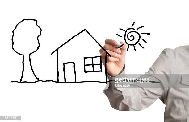 Wünschen ein Haus