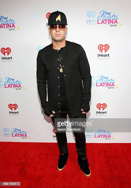 Wisin attends iHeartRadio Fiesta Latina presented by Sprint at American Airlines Arena on November 7 2015 in Miami Florida