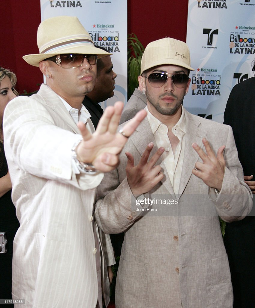 Wisin Yandel during 2006 Billboard Latin Music Conference Awards Arrivals at Seminole Hard Rock Hotel and Casino in Hollywood Florida United States