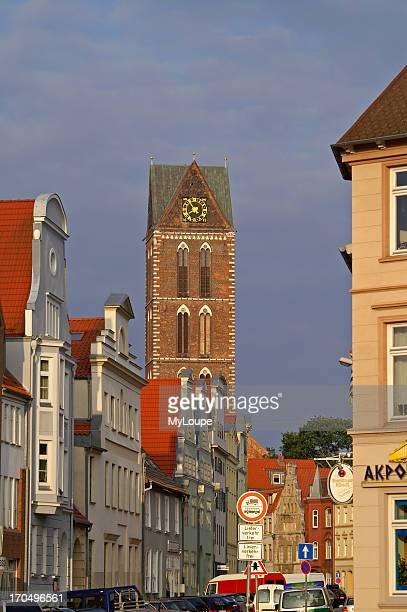 Wismar Germany Street Luebsche Strabe
