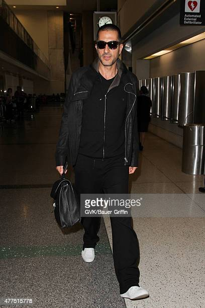 Wissam Al Mana is seen at LAX on June 17 2015 in Los Angeles California