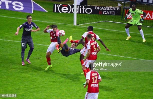 Wissam BEN YEDDER / Mickael TACALFRED / Antoine CONTE Reims / Toulouse 5eme journee de Ligue 1 Photo Dave Winter / Icon Sport