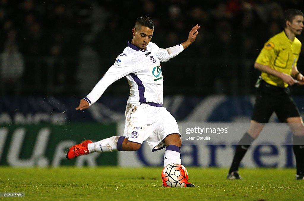 Entente Sannois-saint Gratien v Toulouse FC - French Cup