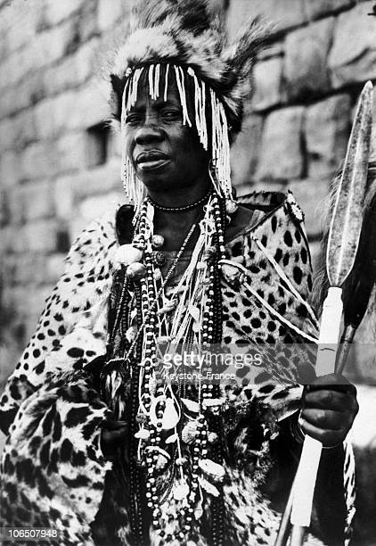 Witch From Herschel District In South Africa On March 9 1937