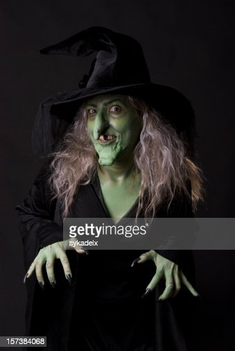Witch on Black
