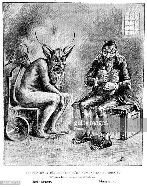 Witchcraft Demons Belphegor and Mammon