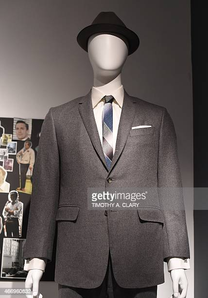EntertainmentUStelevisionMadMenmuseumFOCUS Some outfits worn on the show part of Matthew Weiner's 'Mad Men' exhibit are seen at the Museum of the...