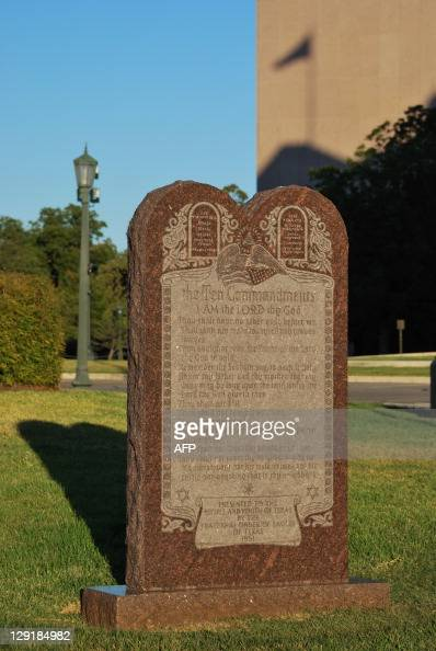 Ten Commandments Stock Photos And Pictures