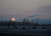 USEnvironmentWaterPollution Geothermal plants stand beside a dried up lake bed near Red Hill Marina at the Salton Sea California on March 19 2015...