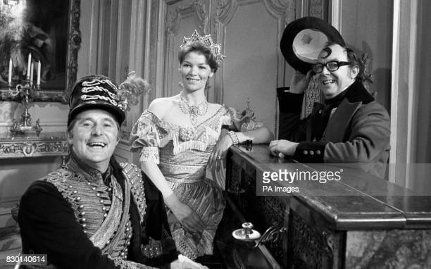 With Glenda Jackson as Queen Victoria Ernie Wise as a pianoplaying Prince Albert and Eric Morecambe as Disraeli complete with quiff the threesome...