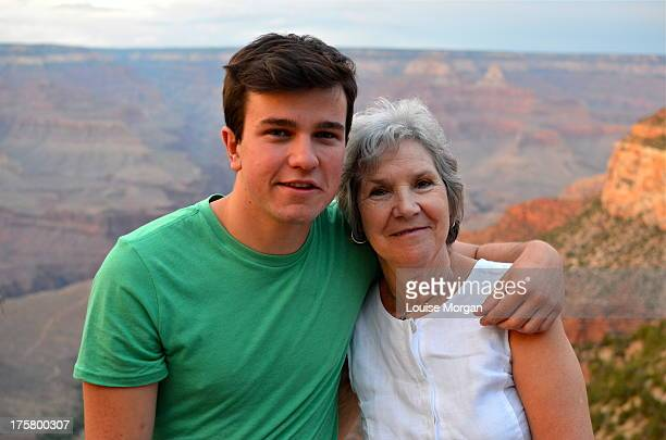 With Grandma at the Grand Canyon