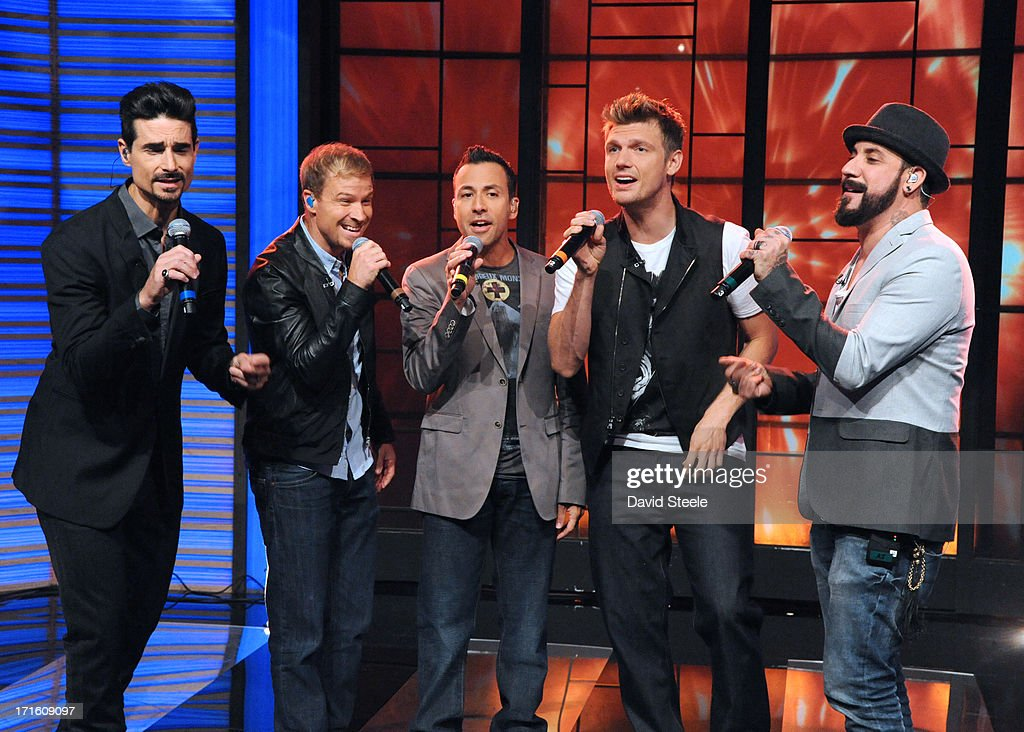 MICHAEL -6/26/13 - 'LIVE with Kelly and Michael,' distributed by Disney-ABC Domestic Television. BACKSTREET BOYS performs