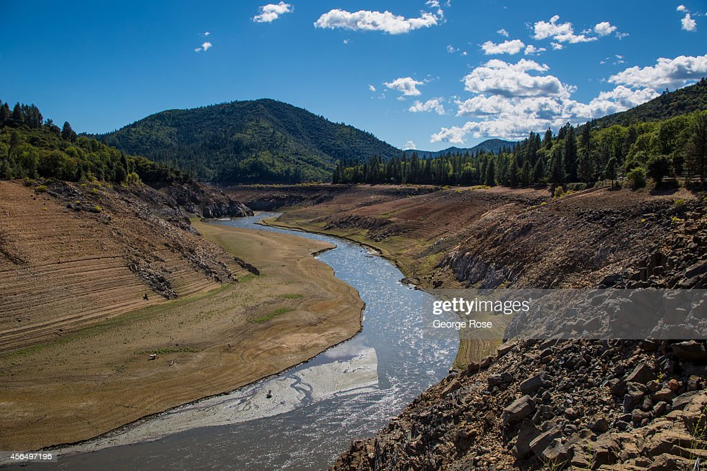 With Lake Shasta at 26% capacity California's largest water reservoir feeding the Sacramento River is at historically low levels impacting tourism on...