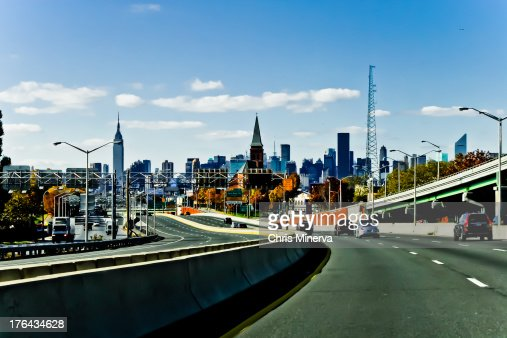 LIE with New York City Skyline