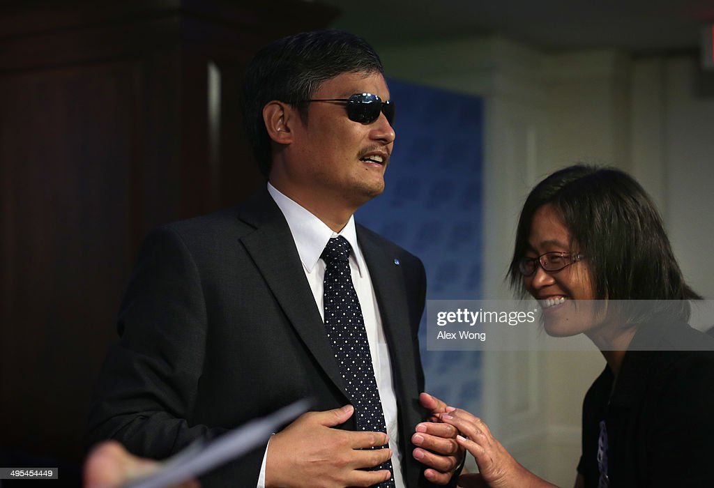 With the help of his wife Yuan Weijing blind Chinese lawyer and human rights activist and senior fellow in human rights at the Witherspoon Institute...