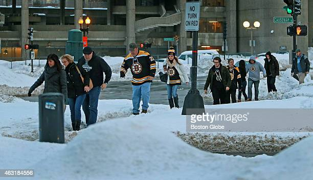 With the trains shut down at North Station parking spots in the garages and lots around the TD Garden are at a premium tonight and fans were making...