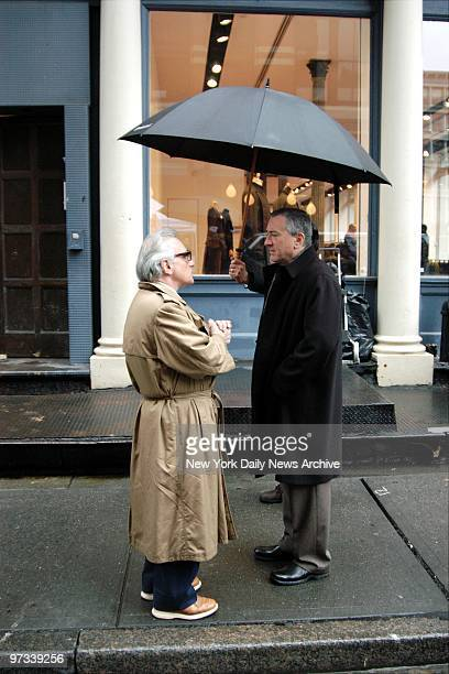 With the Tribeca Theater Festival getting underway actor Robert De Niro provides the cover as Martin Scorsese directs a scene on Mercer St for a...