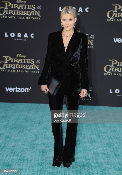 Witney Carson arrives at the Los Angeles Premiere 'Pirates Of The Caribbean Dead Men Tell No Tales' at Dolby Theatre on May 18 2017 in Hollywood...