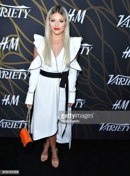Witney Carson arrives at the Variety Power Of Young Hollywood at TAO Hollywood on August 8 2017 in Los Angeles California