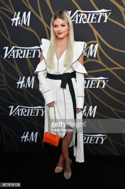 Witney Carson attends Variety Power of Young Hollywood at TAO Hollywood on August 8 2017 in Los Angeles California