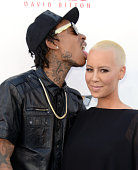 Wiz Khalifa and Amber Rose arrive at the 2013 Billboard Music Awards at the MGM Grand Garden Arena on May 19 2013 in Las Vegas Nevada