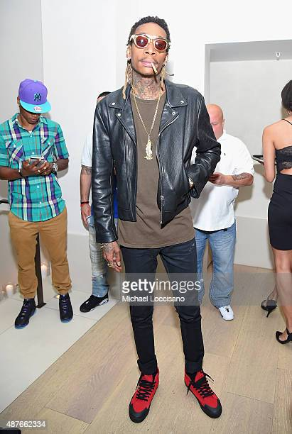 Wiz Khalifa attends the Rihanna Party at The New York Edition on September 10 2015 in New York City