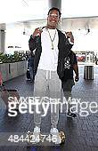 Wiz Khalifa is seen on August 18 2015 in Los Angeles California