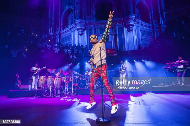 Wizkid performs live on stage at Royal Albert Hall on September 29 2017 in London England