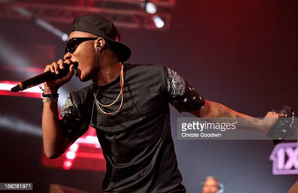 WizKid performs on stage for BBC Radio 1Xtra Live at Brixton Academy on November 12 2012 in London United Kingdom