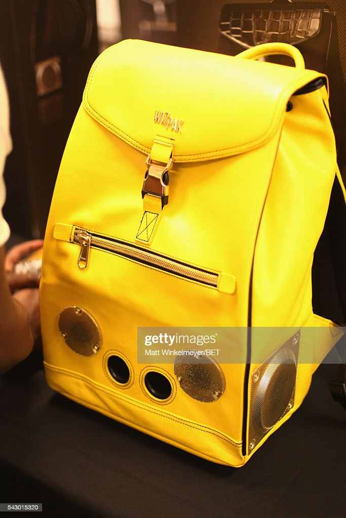 WizPak products are displayed in the BETX gifting suite during the 2016 BET Experience on June 25, 2016 in Los Angeles, California.