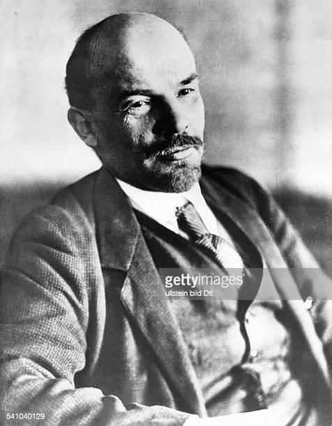 Wladimir I Lenin *22041870Politiker UdSSR Januar 1918