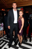 Wladimir Klitschko and Hayden Panettiere attend the Entertainment Weekly ABCTV Upfronts Party at The General on May 14 2013 in New York City