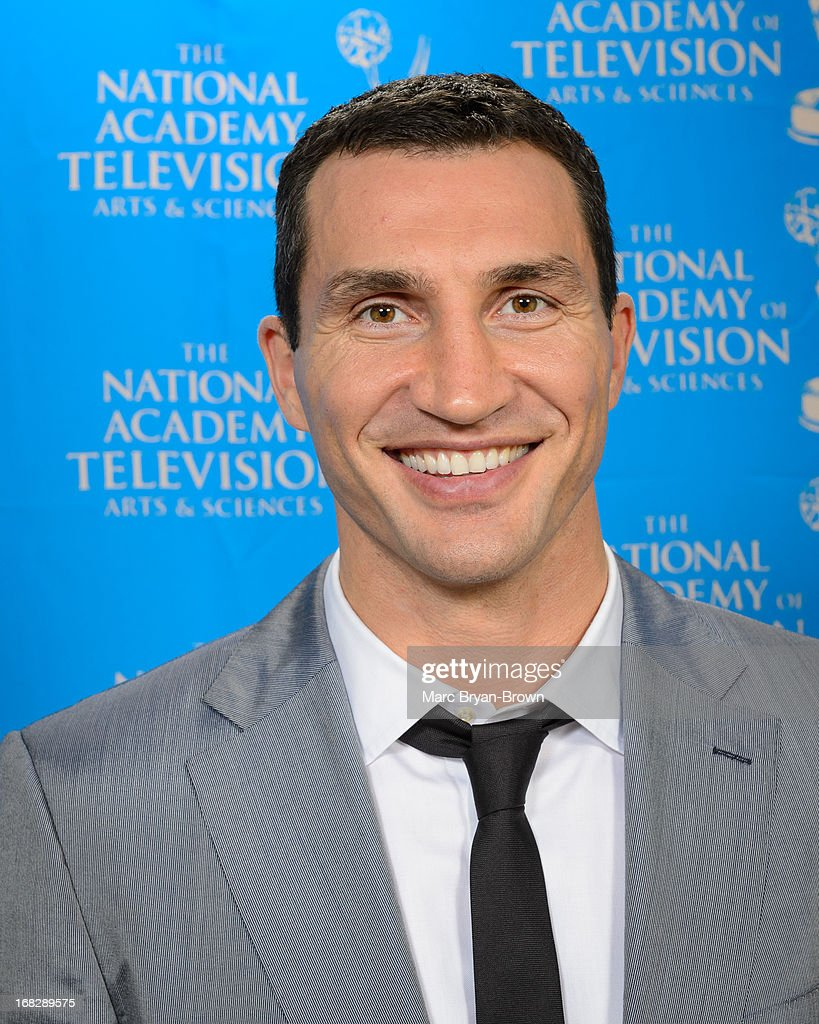 Wladimir Klitschko attends the 34th Annual Sports Emmy Awards at Frederick P. Rose Hall, Jazz at Lincoln Center on May 7, 2013 in New York City.