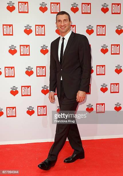 Wladimir Klitschko attends the Ein Herz Fuer Kinder Gala on December 3 2016 in Berlin Germany