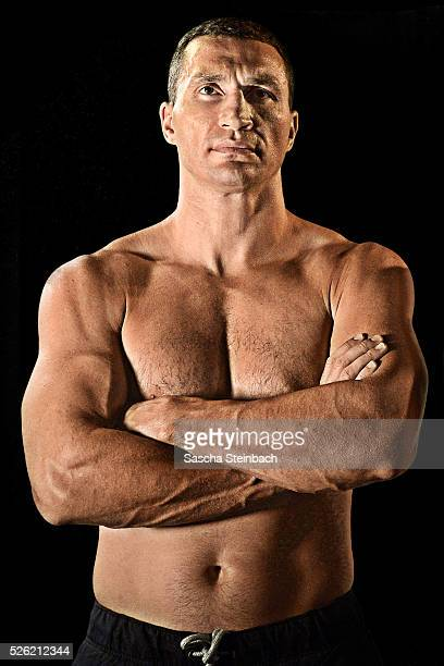 Wladimir Klitschko poses at EspritArena on July 21 2015 in Duesseldorf Germany Fury v Klitschko Part 2 will take place in Manchester on July 9 for...