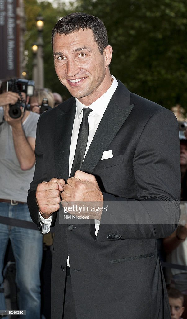 <a gi-track='captionPersonalityLinkClicked' href=/galleries/search?phrase=Wladimir+Klitschko&family=editorial&specificpeople=210650 ng-click='$event.stopPropagation()'>Wladimir Klitschko</a> sighting on July 31, 2012 in London, England.
