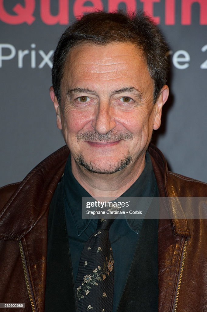 Wladimir Yordanoff attends the Tribute to Quentin Tarantino, during the 5th Lumiere Film Festival, in Lyon.
