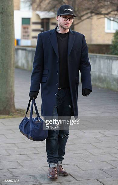 Wlodzimierz Umaniec also known as 'Vladimir Umanets' arrives at the Inner London Crown Court to be sentenced for causing criminal damage to a Mark...