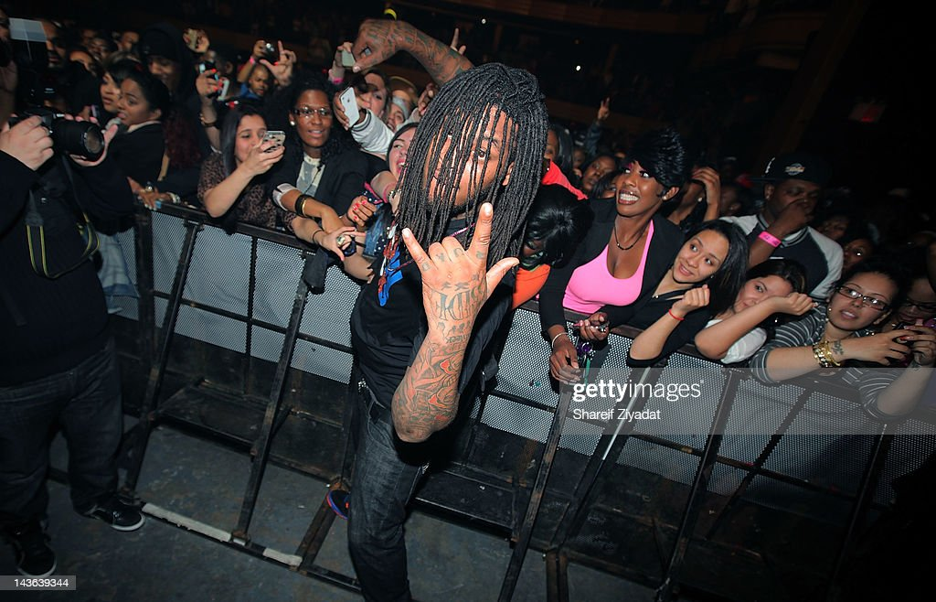 Wocka Flocka Flame attends the DJ ProStyle Birthday Concert at Hammerstein Ballroom on April 30, 2012 in New York City.
