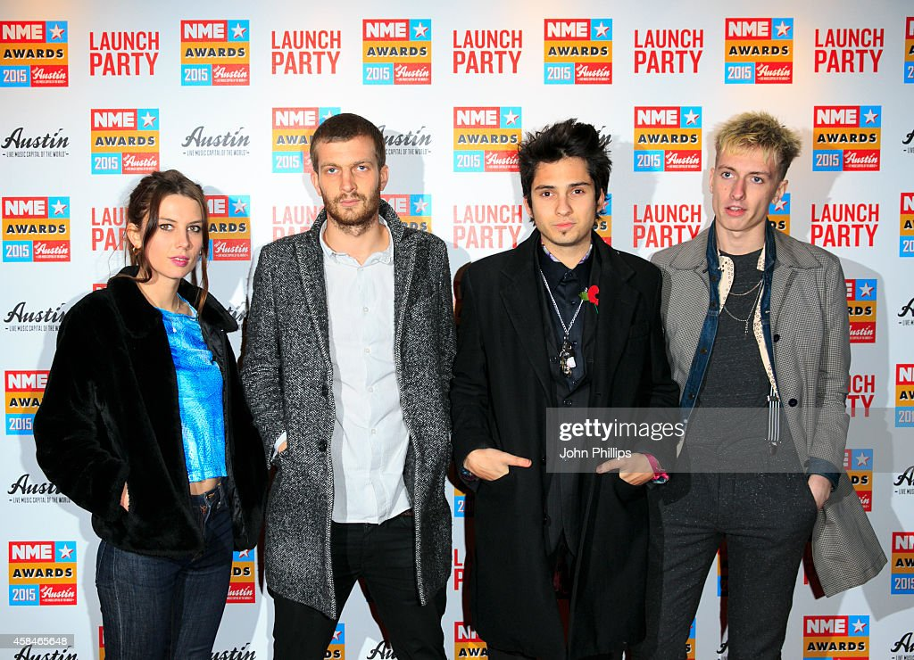 Wolf Alice attend the NME Awards 2015 launch party at Under The Bridge on November 5, 2014 in London, England.