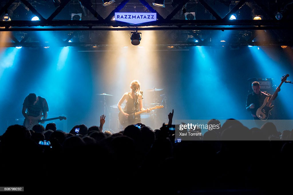 Wolf Alice perform in concert at Sala Razzmatazz 2 on February 6, 2016 in Barcelona, Spain.